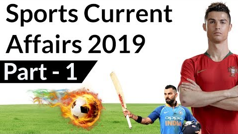 sports current affairs 2019 part 1
