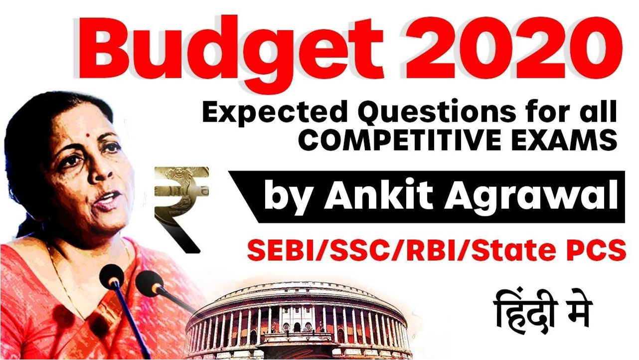 budget expected 2020 question